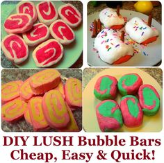 DIY LUSH Bubble Bars Recipe, How to Make LUSH Products CHEAP, EASY & QUICK! More LUSH DIYs on www.MariaSself.com Homemade Gift Idea for Saint Valentine's Day, Birthday, Mother's Day or Christmas #lush #lushdiy #homemadelush #bubblebars #lushbubblebars #diybubblebars #homemadebubblebars #bubblebarsrecipe #lushrecipes #lushcopycat #beautyrecipes #giftideas #diygiftideas #mariasself #frugal #homemade #bubblebars #diyspa #homemadespa #christmas #spa #bathproducts