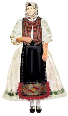 Saravale, Banat Popular Costumes, Folk Costume, Traditional Outfits, Ethnic, Textiles, Vintage, Inspiration, Clothes, Dresses