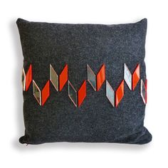 Great cushion by Georgia Bosson- please check out her sight, http://www.georgiabosson.co.uk/products