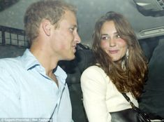 Back together again: Prince William and Kate are snapped leaving Bouji's nightclub in October, appearing more in love than ever