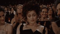 """You shouldn't clap.""  Helena Bonham Carter"