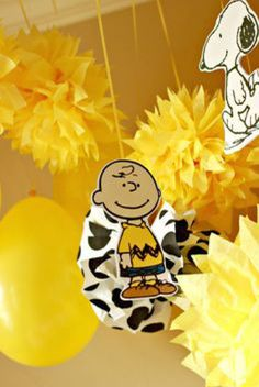 decoração festa Snoopy