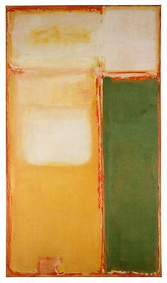 peinture abstraite : rothko