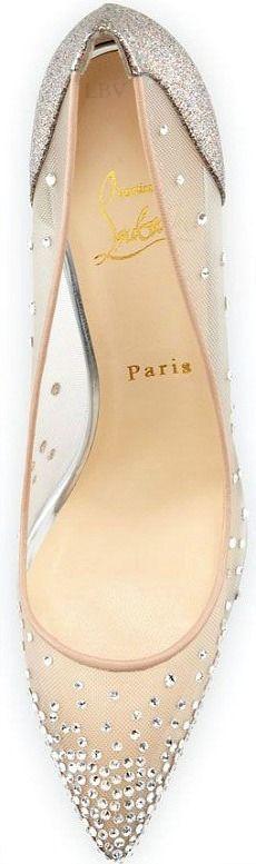 Signature Christian Louboutin ♥✤ Wedding Shoes