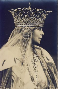 Queen Marie of Romania (One of Queen Victoria's granddaughters.)