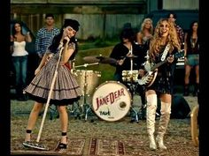 Jane Dear Girls - Shotgun Girl---Love love love this song and their style.  This girl reminds me of my friend erika.