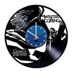 Game of Thrones Handmade Vinyl Record Wall Clock Fun gift... https://www.amazon.co.uk/dp/B01DLZT3U8/ref=cm_sw_r_pi_dp_RoJGxbHRAGZZ0