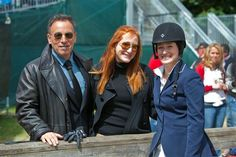Bruce Springsteen and Patti Scialfa  Offspring: Evan, Jessica and Samuel