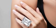 This emerald-cut diamond sold for big bucks at Sotheby's, fetching a whopping $22.1 million on the auction block. It was the highest price for any colorless diamond auctioned in New York.