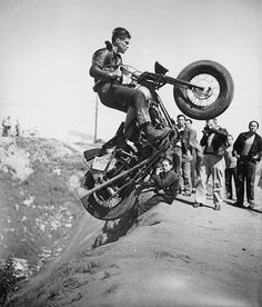 MOTORCYCLE 74: Vintage hill climb