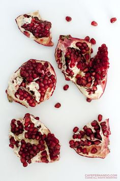 pomegranate jam! I must can this before they're out of season