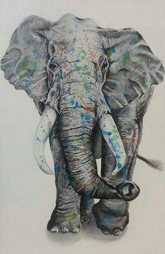 Elephant done by myself
