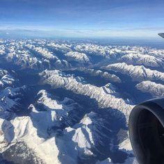 #up #upandaway is my favorite state of being ... #canadianrockies #snow #amazingview #eyeranititravel #travel #overCanada