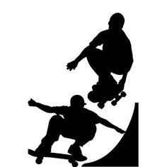 RoomMates RMK1313GM Chalkboard Skaters Peel & Stick Wall Decals by RoomMates, http://www.amazon.com/dp/B001VFQW3M/ref=cm_sw_r_pi_dp_KkBarb1MMA320