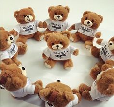 Mini Mobile Power Bank USB Charger Battery Girl Woman Gift Bear Toy Strap Brown