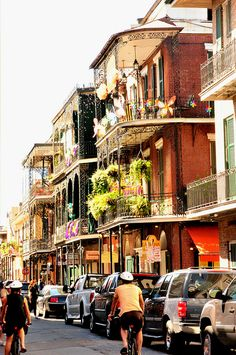 New Orleans a magical & Mysterious place. Chris and I had fun downtown.