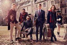 みようによっては、右二人ダー様とアレク~ン。RJ King, Benjamin Eidem, Viggo Jonasson Tommy Hilfiger Fall 2013 Campaign Ad