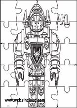 Druckbare Puzzle Lego Nexo Knights12