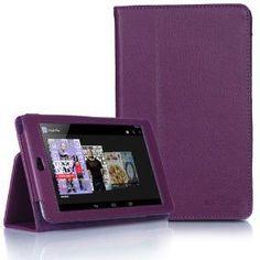 Nexus 7 Purple Tablet Case - myaccessoryguy