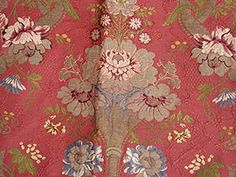 Silk Brocade Fragment, 18th C.<br /> Session 3 - Lot 947 - $300.00