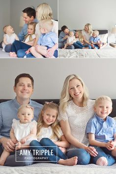LOVED this sweet family! Family session with Amy Tripple Photography
