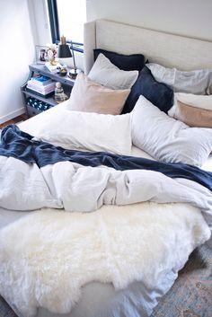 Parachute's linen bedding