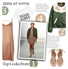 """""""NYFW. Top looks from..."""" by sati199308 ❤ liked on Polyvore featuring Tommy Hilfiger, Marissa Webb and River Island"""