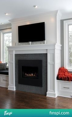 adding visual interest and height to your fireplace living rooms room and house