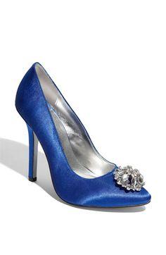 cobalt wedding shoes