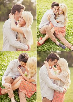 Love the photographer who does these engagements!