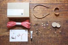 Each month's four stylish projects (think raffia tassel earrings and metallic linen lavender sachets) feature specially sourced materials you won't find at your local craft store. ($29 per month; forthemakers.com)