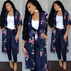 Fabric Content: POLYESTER Description: L: B: W: Long Floral Kimono, Long Kimono, Kimono Top, Kimono Fabric, Kimono Outfit, Flutter Sleeve, Summer Outfits, Product Description, Content