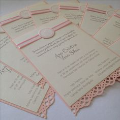 Baptism favor card by paperworks