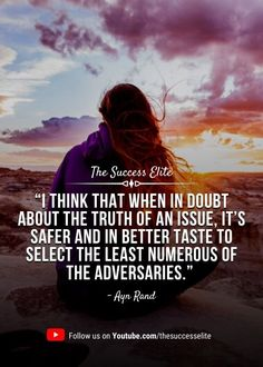 Top 35 Inspiring Doubt Quotes To Believe In Yourself | THE SUCCESS ELITE Say You, Believe In You, Give It To Me, Doubt Quotes, Orson Scott Card, Lack Of Confidence, Ayn Rand, Brian Tracy, Have Faith In Yourself