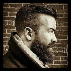 "grew into a man with the beard,"" Buoncristiano admitted. ""I grew into a man with the beard,"" Buoncristiano admitted. Great Beards, Awesome Beards, Bart Styles, Beard Love, Man Beard, Perfect Beard, Epic Beard, Undercut Hairstyles, Undercut Hair Men"