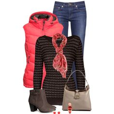 """""""Neon for fall"""" by mommygerloff on Polyvore"""