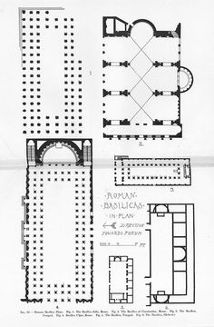Roman Basilicas: Plan | Flickr - Photo Sharing!