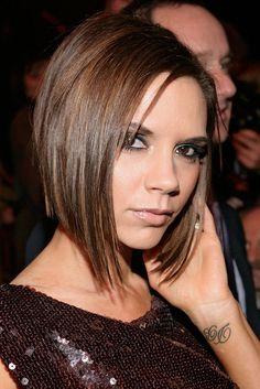 Victoria Beckham: von Long-Bob bis Pixie-Cut - VOGUE