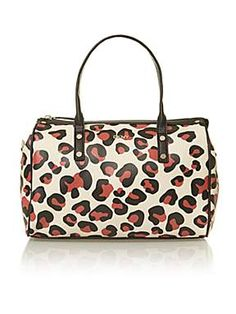 DKNY Animal print multi coloured bowling bag - House of Fraser