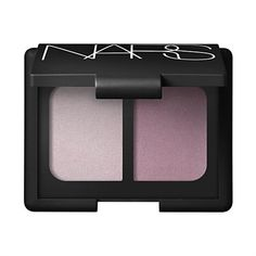 Nars Tokyo I & II. Not nearly as purplish as the pic looks on my computer. More of a soft, sheer, silvery, lavendery taupe. Very nice with hazel or green eyes.
