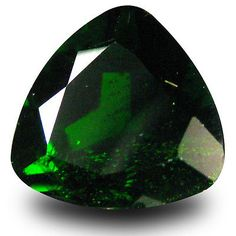 Diopside 110794: 2.94 Ct Sparkling Trillion Shape (9 X 9 Mm) Green Chrome Diopside Gemstone -> BUY IT NOW ONLY: $44.99 on eBay!