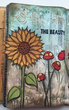 Claire's Crafty Makes: Flower Garden on Paperartsy Blog