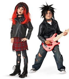 punk costume  Its a culture, not a costume. Just like Native Americans, African Americans, and everything else someone can identify as, people.