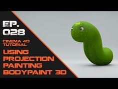 Using Projection Painting in Bodypaint in Cinema 4D. - YouTube