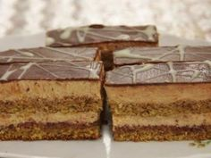 Czech Recipes, Ethnic Recipes, Czech Desserts, Traditional Cakes, Wonderful Recipe, Homemade Cakes, Food Dishes, Nutella, Baked Goods