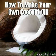 DIY coconut oil