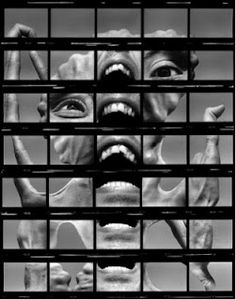 Karl Baden, Untitled [Contact Sheet Self Portrait], 1980 Experimental Photography, Artistic Photography, Fine Art Photography, Amazing Photography, Portrait Photography, Nature Photography, David Lachapelle, Martin Parr, Annie Leibovitz