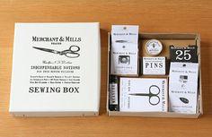 MERCHANT&MILLS ソーイングボックス