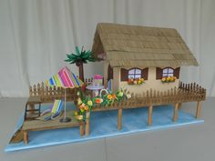 Creation Deco, Decoration, Craft, Gingerbread, Creations, Tropical, Outdoor Decor, Wedding, Leis