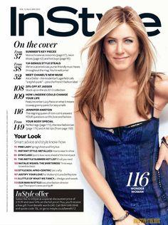 Jennifer Aniston - INSTYLE(UK)-MAY 2012